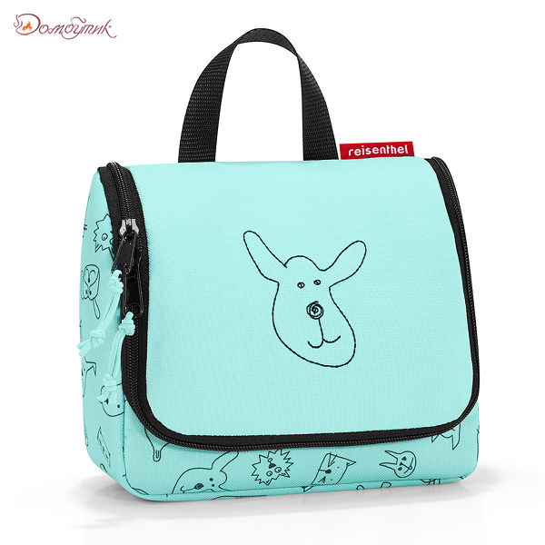 Органайзер детский Toiletbag S cats and dogs mint
