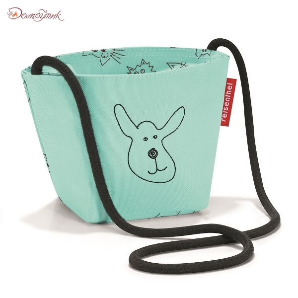 Сумка детская Minibag Cats and dogs mint