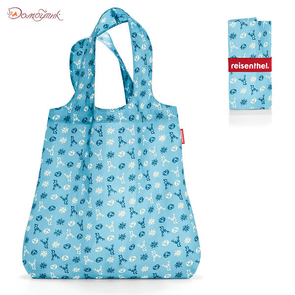 Сумка складная Mini maxi shopper bavaria denim