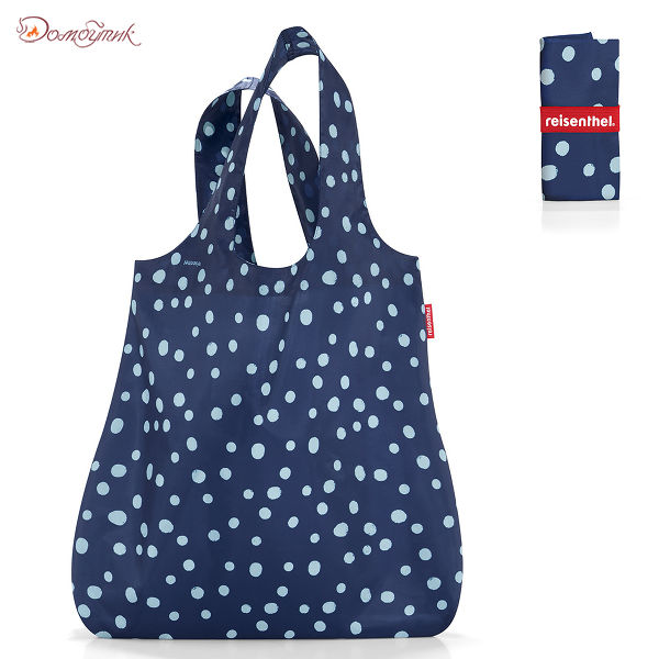 Сумка складная Mini maxi shopper spots navy