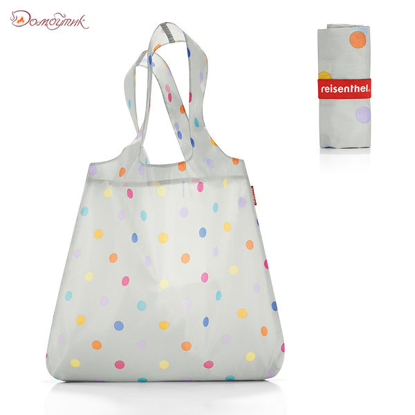 Сумка складная Mini maxi shopper stonegrey dots