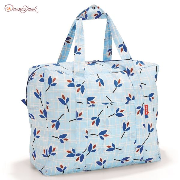 Сумка складная Mini maxi touringbag leaves blue