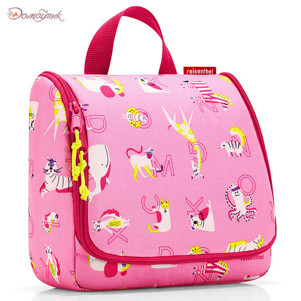 Органайзер детский Toiletbag ABC friends pink