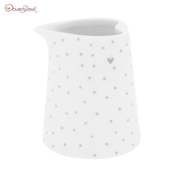 Bastion Collections Соусник White Dots Stripes Нeart